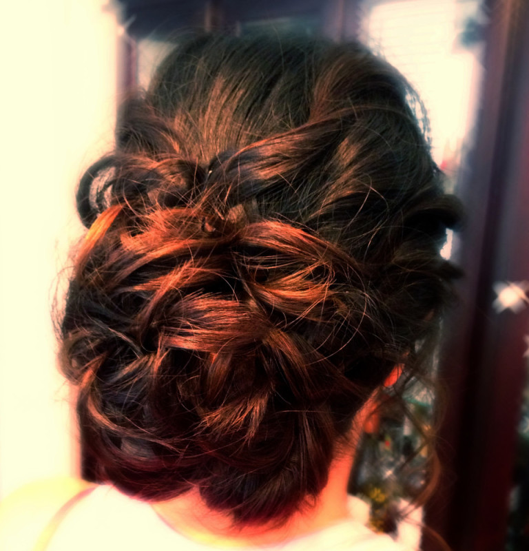 asian-hair-updo